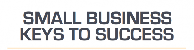 Infographic: Small Business Keys to Success